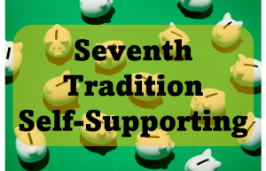 OA 7th Tradition is about self-support